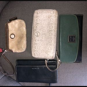 Wallet bundle! Michael Kors, Coach, DB, Fossil